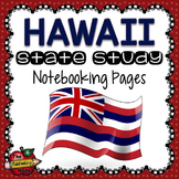 Hawaii State Study Notebooking Pages