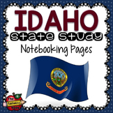 Idaho State Study Notebooking Pages
