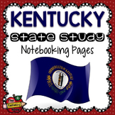Kentucky State Study Notebooking Pages