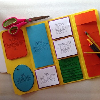State Study Lapbook Kit (For Any State)
