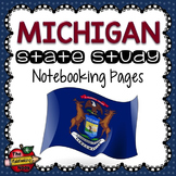 Michigan State Study Notebooking Pages