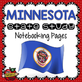 Minnesota State Study Notebooking Pages