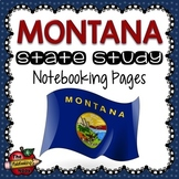 Montana State Study Notebooking Pages