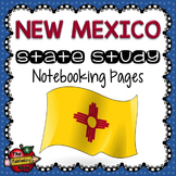 New Mexico State Study Notebooking Pages