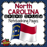 North Carolina State Study Notebooking Pages