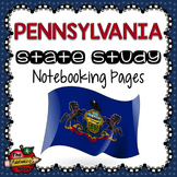 Pennsylvania State Study Notebooking Pages
