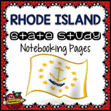 Rhode Island State Study Notebooking Pages