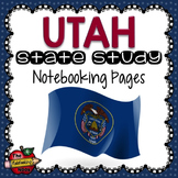 Utah State Study Notebooking Pages