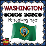 Washington State Study Notebooking Pages