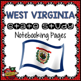 West Virginia State Study Notebooking Pages