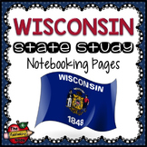 Wisconsin State Study Notebooking Pages