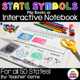 State Symbols Flip Book and Interactive Notebook