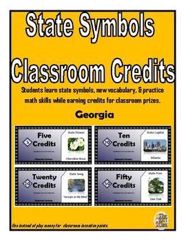 State Symbols Classroom Currency (Georgia)