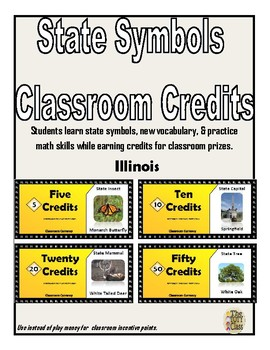 State Symbols Classroom Currency (Illinois)