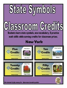 State Symbols Classroom Currency (New York)