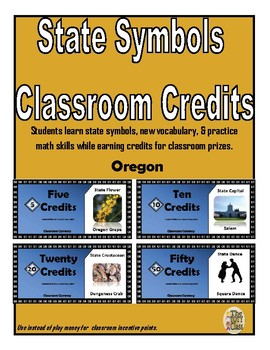 State Symbols Classroom Currency (Oregon)