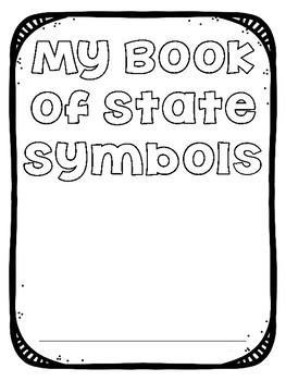 State Symbols Coloring Book