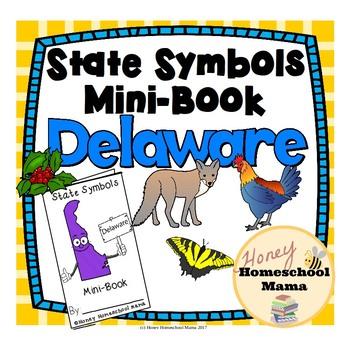 State Symbols Mini-Book - Delaware