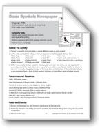 State Symbols Newspaper (computer project)