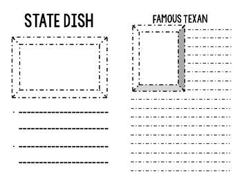 State Symbols Student Notebook