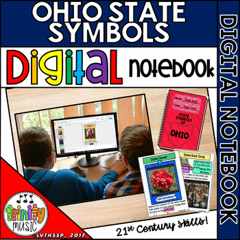 State Symbols of Ohio Notebook (Digital)