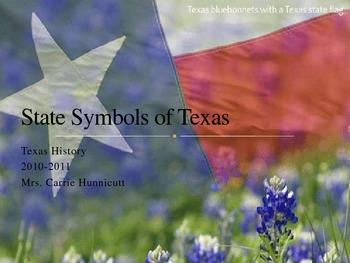 State Symbols of Texas