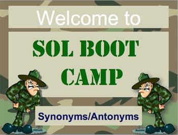 State Test Bootcamp: Synonym/Antonym