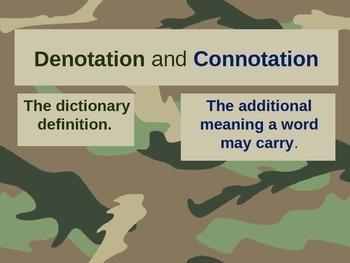 State Test Prep: Connotation