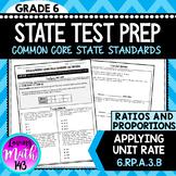 Unit Rate: 6th Grade Math State Test Prep