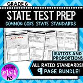State Test Prep: Ratios & Proportions BUNDLE!
