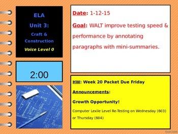State Test Prep: Summarizing Lesson