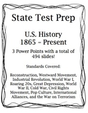 Social Studies U.S. History State Test Prep:  PASS Aligned