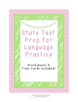 State Test Prep for Language