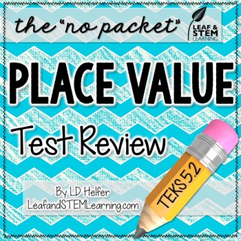 5th Grade Math Test Review {Place Value TEKS 5.2}