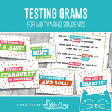 State Testing Candy Grams   Motivational Candy Grams   Cla