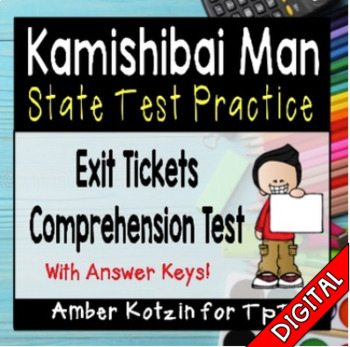 Kamishibai Man State Test Prep - 3rd Grade Journeys