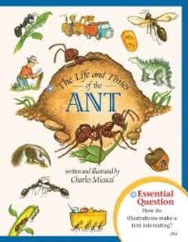 """State Testing: Journey's """"The Life and Times of the Ant"""" Text Dependent Analysis"""