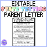 State Testing: Tips for Success Parent Letter