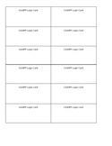 State Testing Login Cards - Editable!