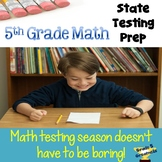 State Testing Math Prep for Fifth Grade