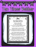 State Testing Motivational Poem titled Ten Times Better