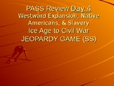 State Testing PowerPoint Jeopardy Review Westward Expansion, Natives, & Slavery