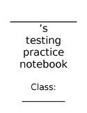 State Testing Practice Book