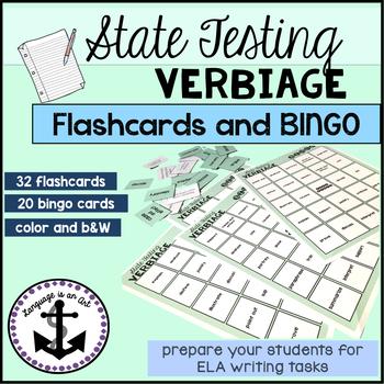 State Testing Verbiage Bingo