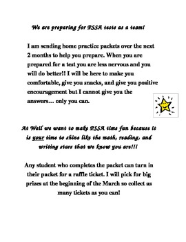 State Tests - Practice Raffle