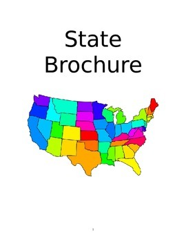 State Travel Brochure