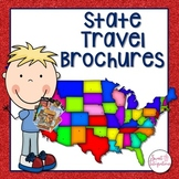 STATE TRAVEL BROCHURE Editable Trifold Template | Distance Learning