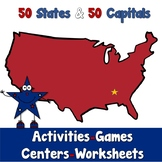 Activities using States and Capitals of the USA