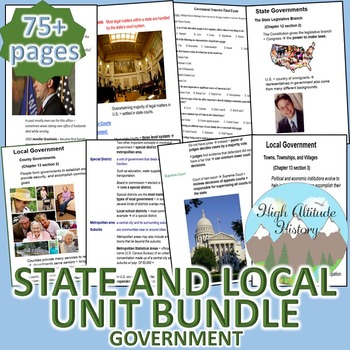 State and Local Government Unit (Government) *Unit Bundle*