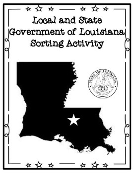 State and Local Government of Louisiana Sorting Activity